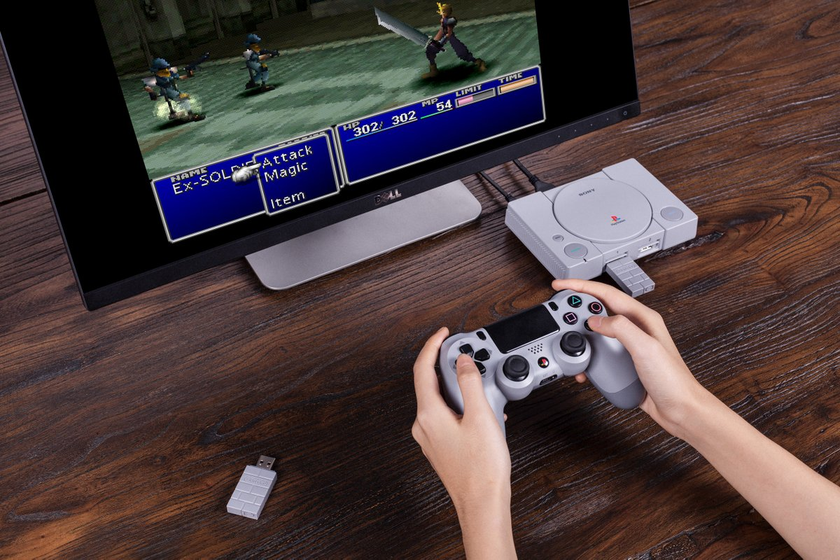 8BitDo Adds Firmware Update Accesses the PSClassic's Hidden Menu