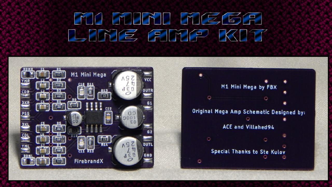 FirebrandX M1 Mini Mega Boards In Stock
