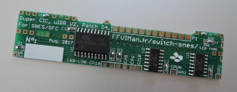 FFVIMan's SNES Region mod PCB