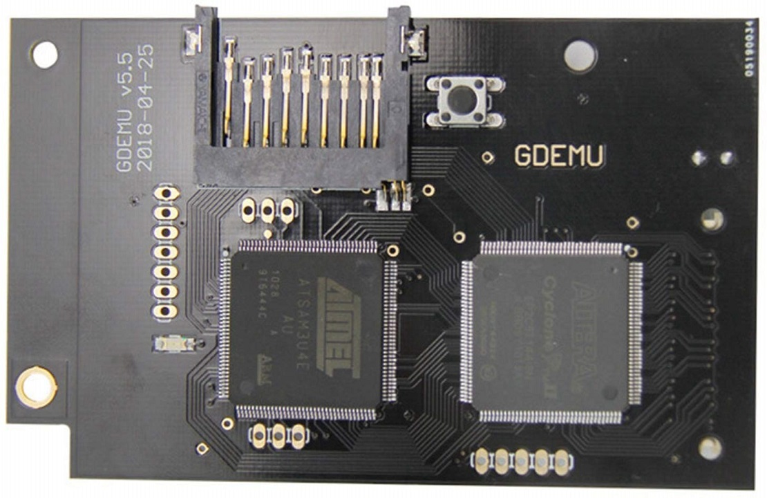 GDEMU Firmware update (May 2020)
