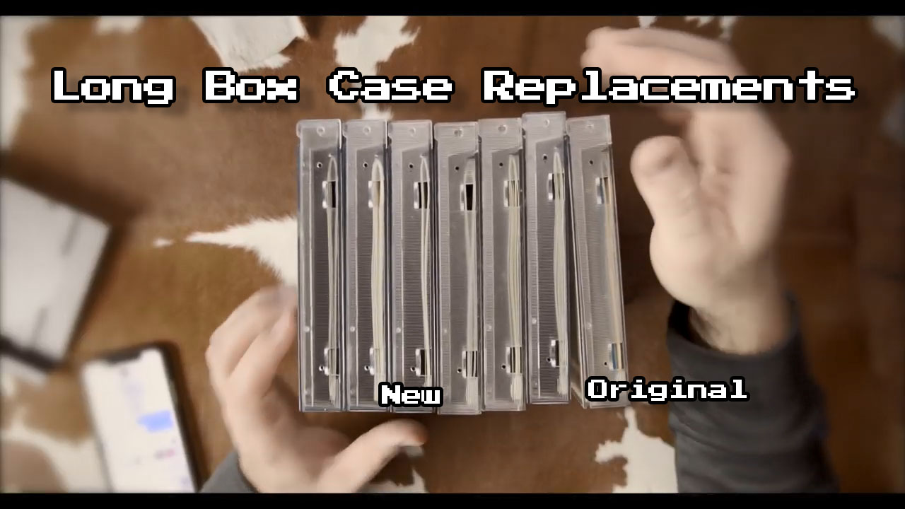 Jenovi's Review:  Sega CD Long Box Replacement Case