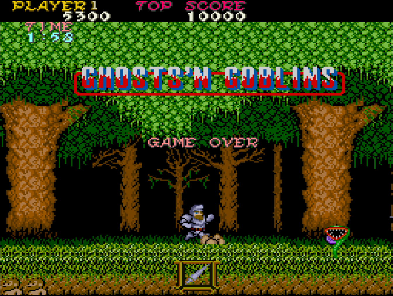 MiSTer Ghosts 'n Goblins Core Released: Things just got serious.