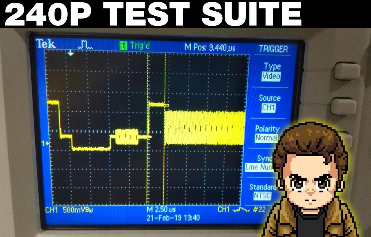 PC Engine/CD/TurboGrafx-16 & Sega Dreamcast 240p Test Suite Updates by Artemio