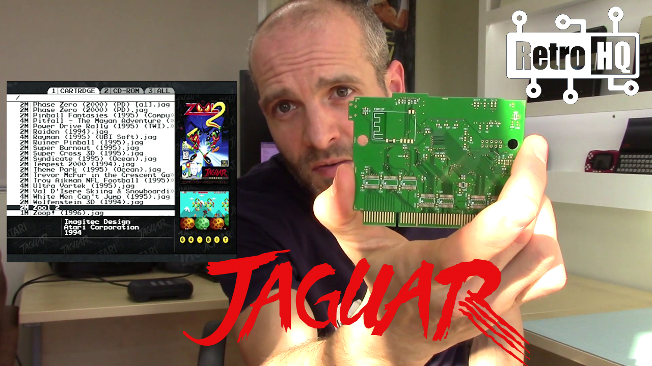 Atari Jaguar Game Drive Update