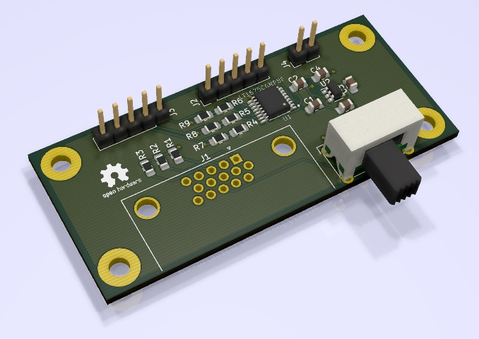 New CRT RGB Mod Board