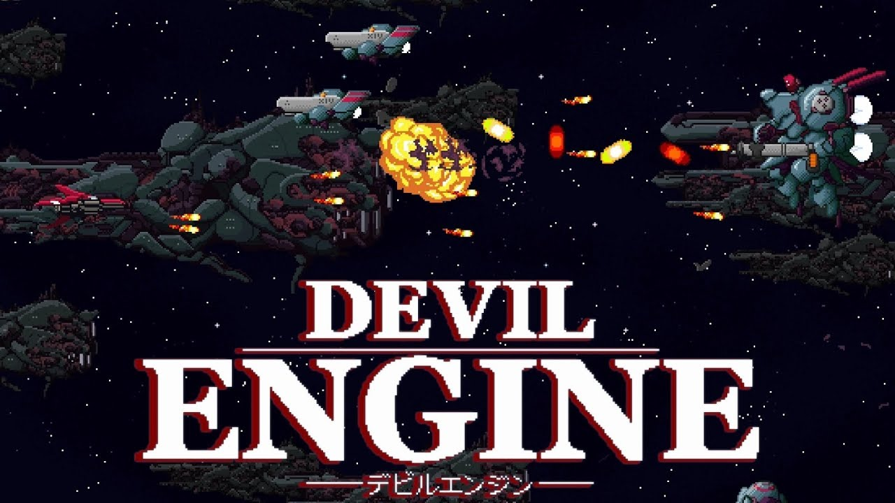 Devil Engine: Glorious New 2D Shoot 'em Up on Steam & Switch