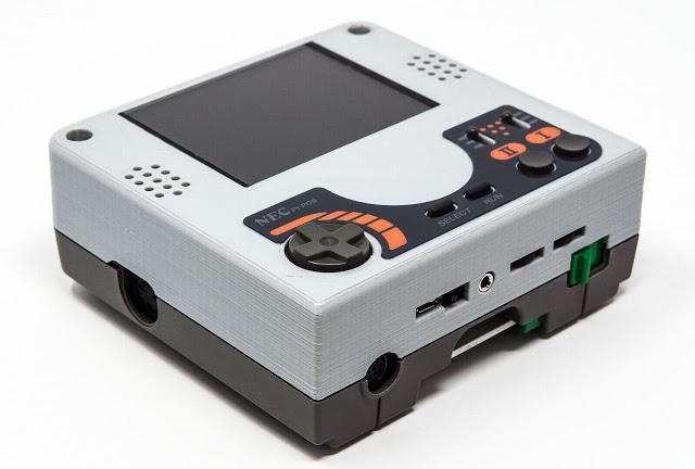PC Engine Mercurius UNIT: Handheldized PCE