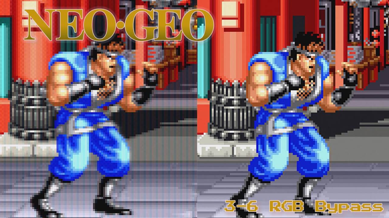 Neo Geo AES Basic Bypass Guide Added