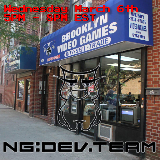 Livestream & Meetup at Brooklyn Video Games