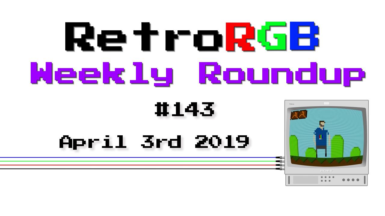 Weekly Roundup #143