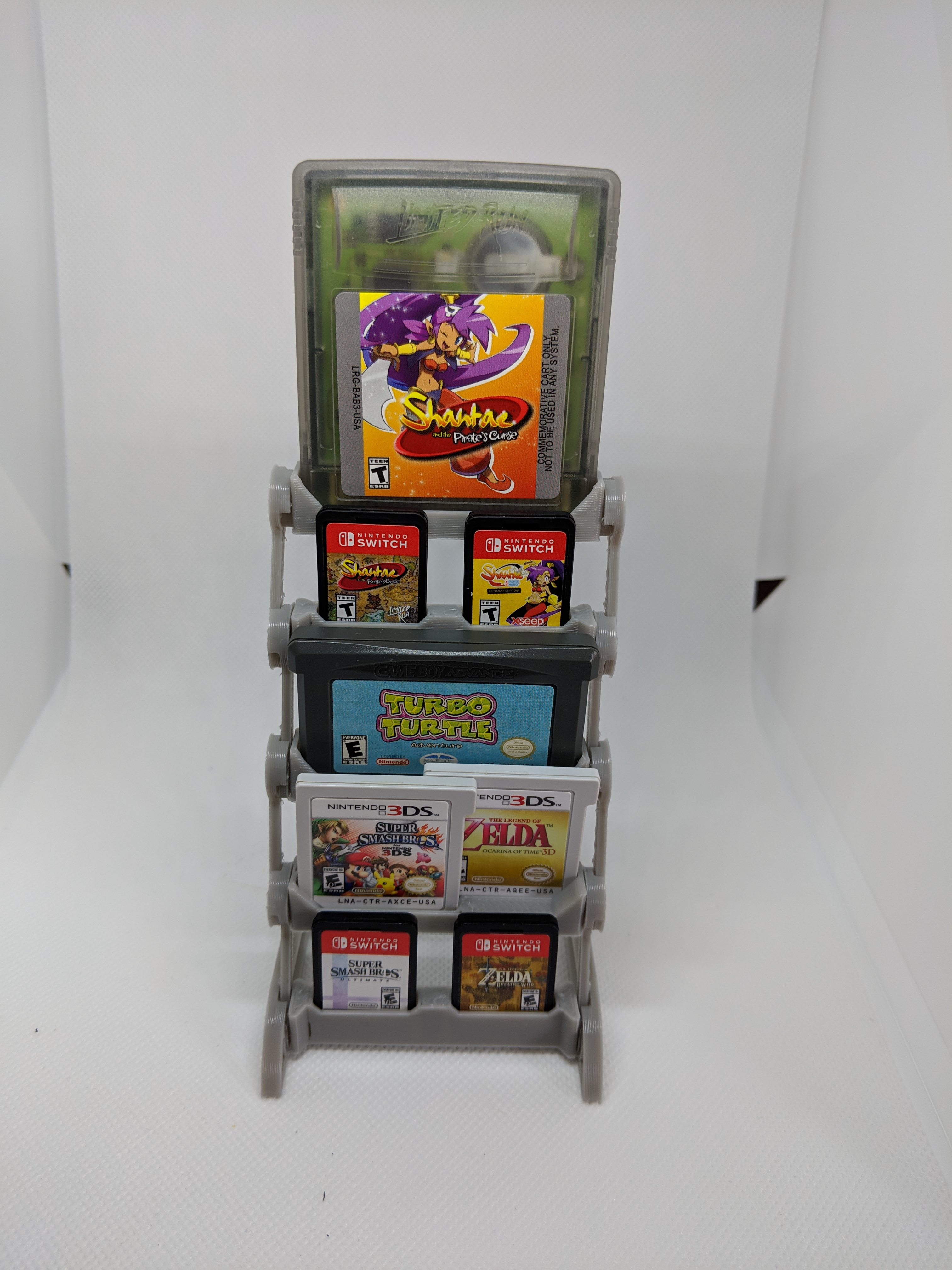 Game Stack Display System