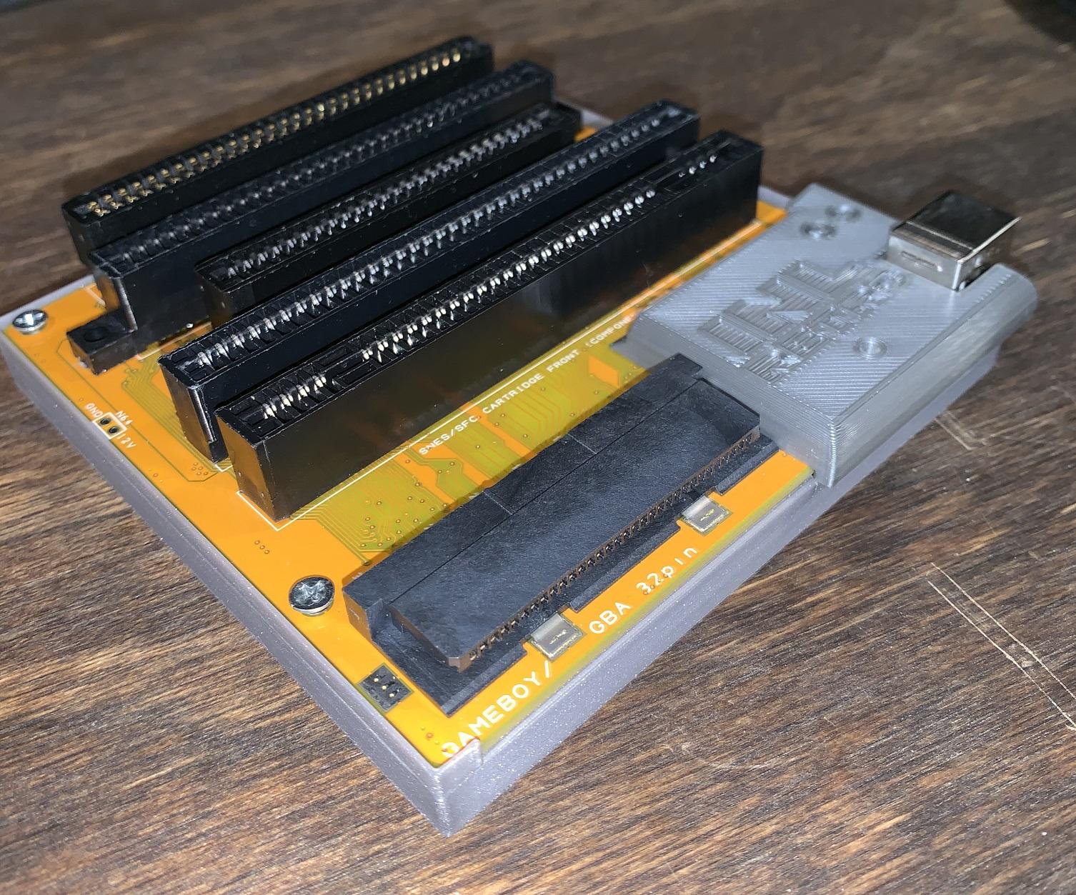 Unofficial INLretro Dumper-Programmer Case Released