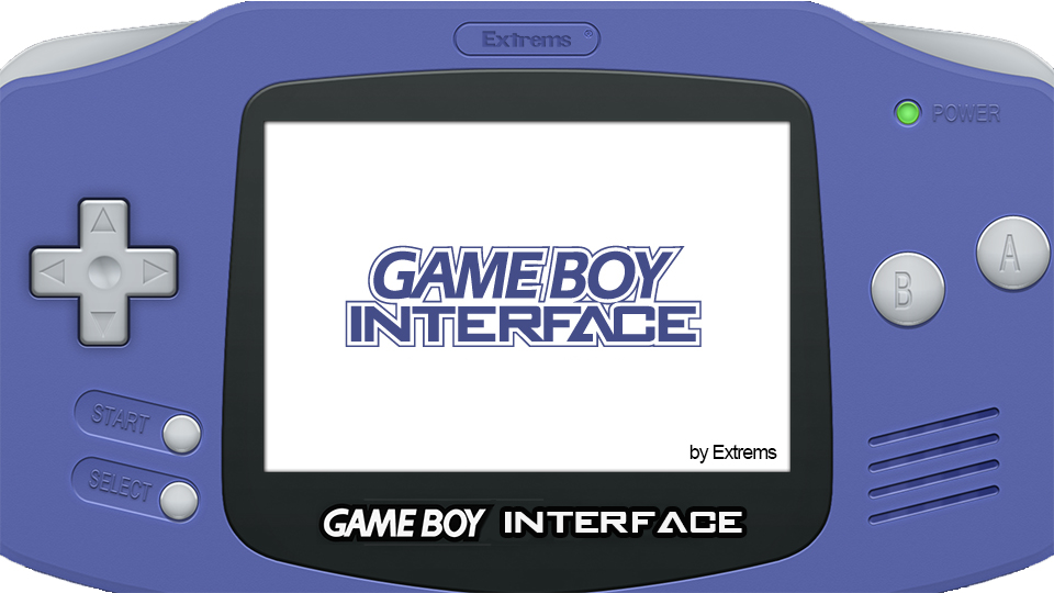 Game Boy Interface – April 2020 Updates