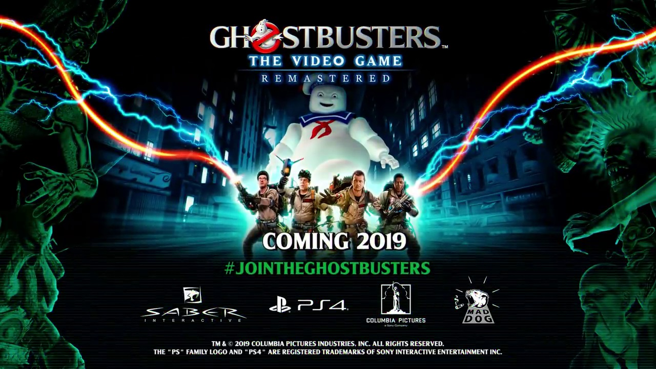 "Ghostbusters 2009 Getting ""Remastered"" Release on PS4"
