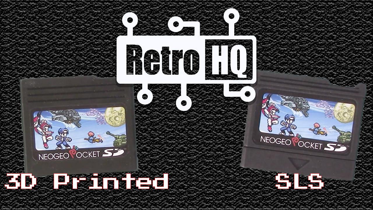 New NeoGeo Pocket SD Cartridge Shells