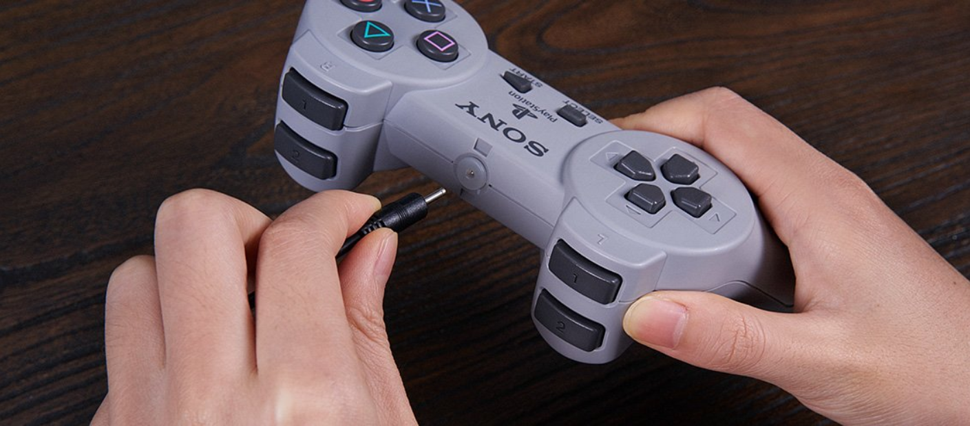 8bitdo releases DIY Modkits for PS1 & PS1 Classic