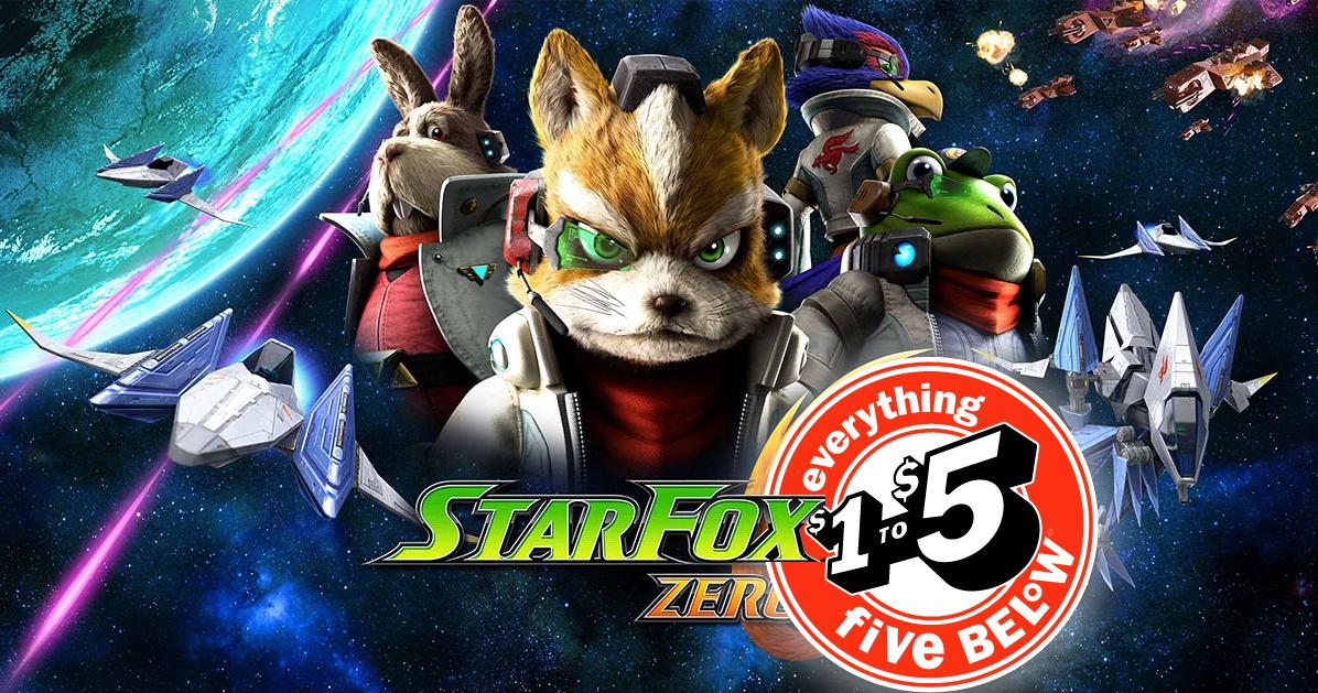 StarFox Zero Shows Up at Five Below Stores