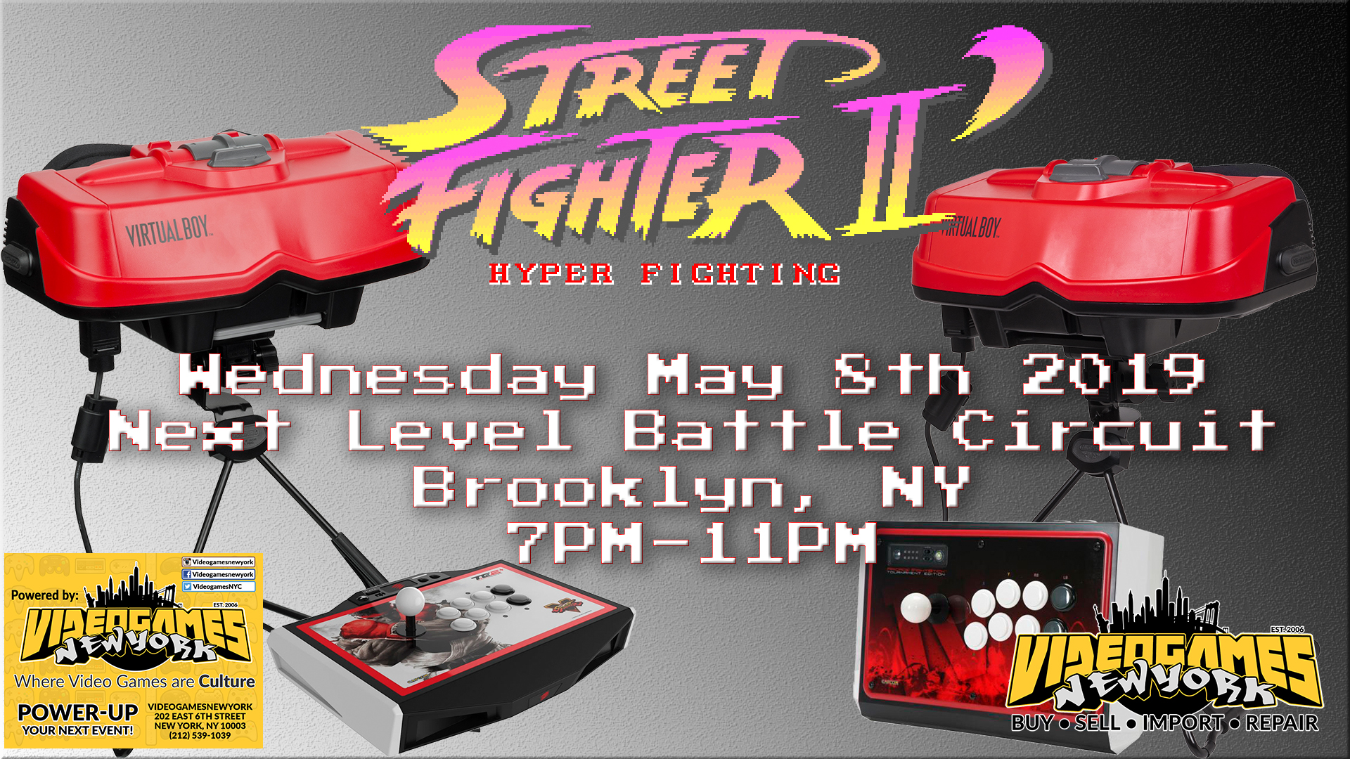 Virtual Boy Hyper Fighting LIVE NYC Event