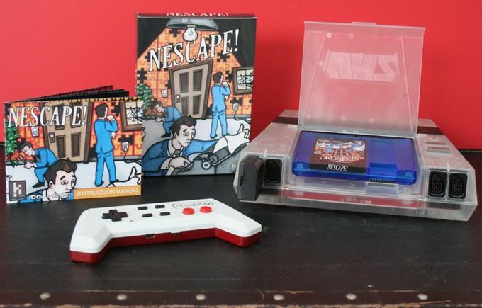 NEScape by Khan Games Makes its Kickstarter Debut