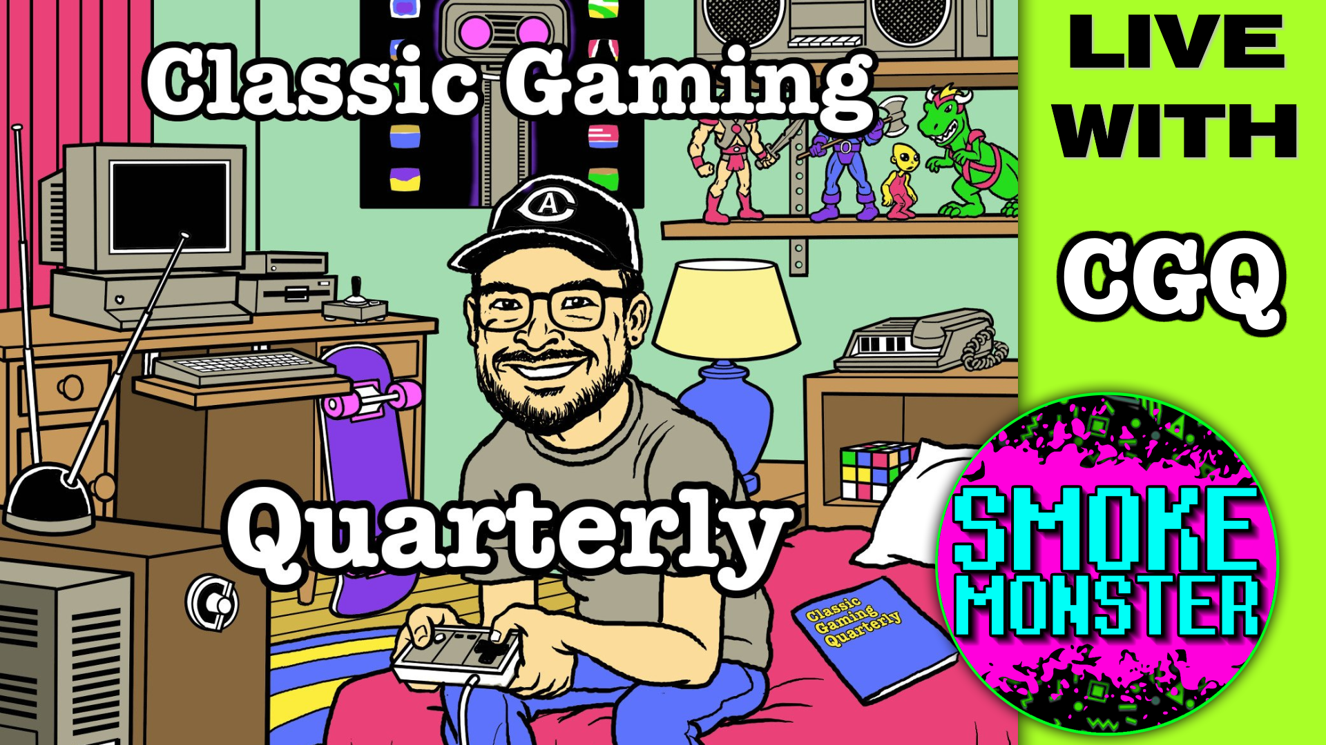 The Sega Genesis in 1990 by Classic Gaming Quarterly and SmokeMonster CGQ interview