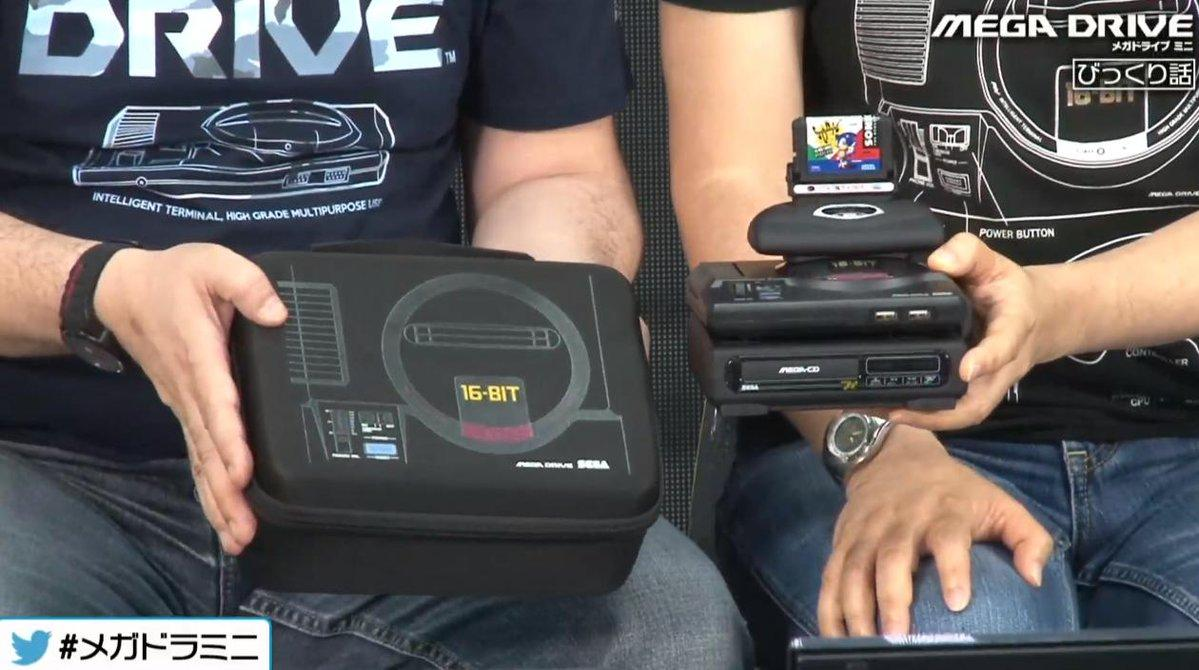 "Sega Mega Drive Mini ""Tower of Power"""