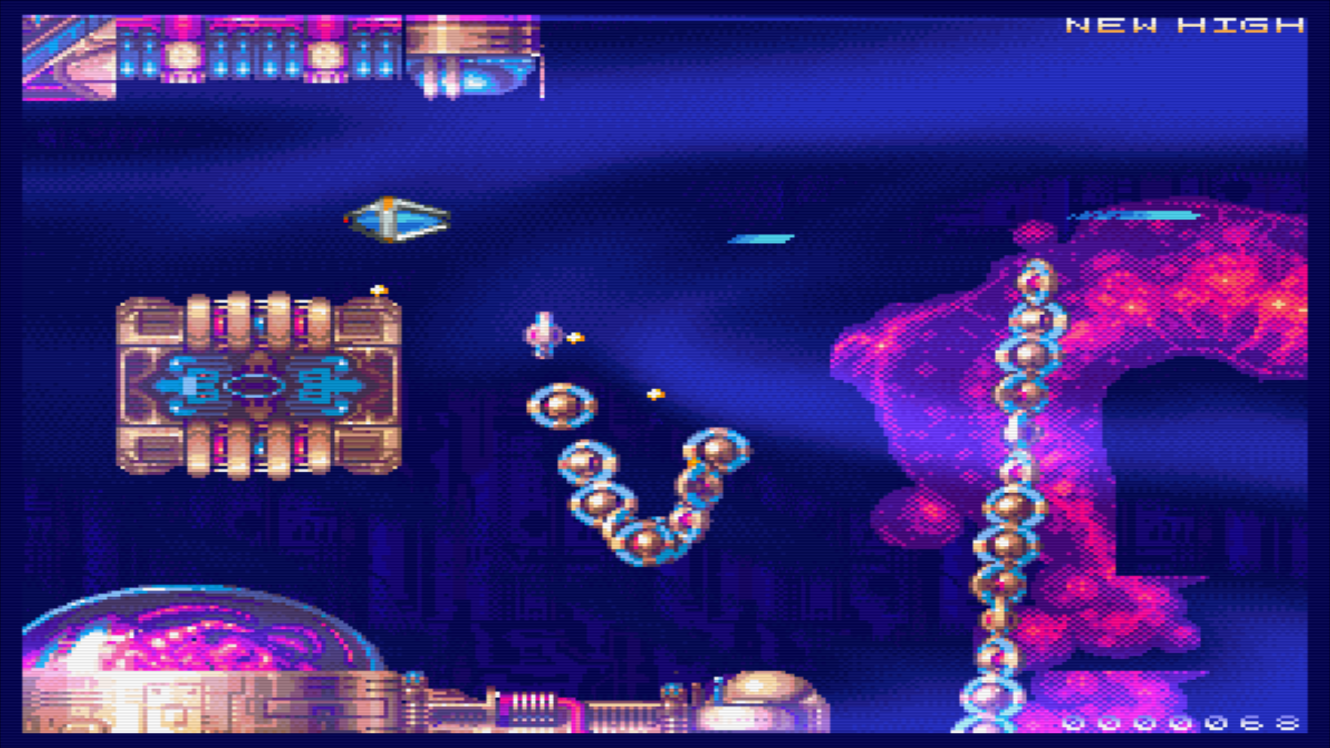 New Amiga Game Called Reshoot·R (Shoot'em-Up/Shmup)