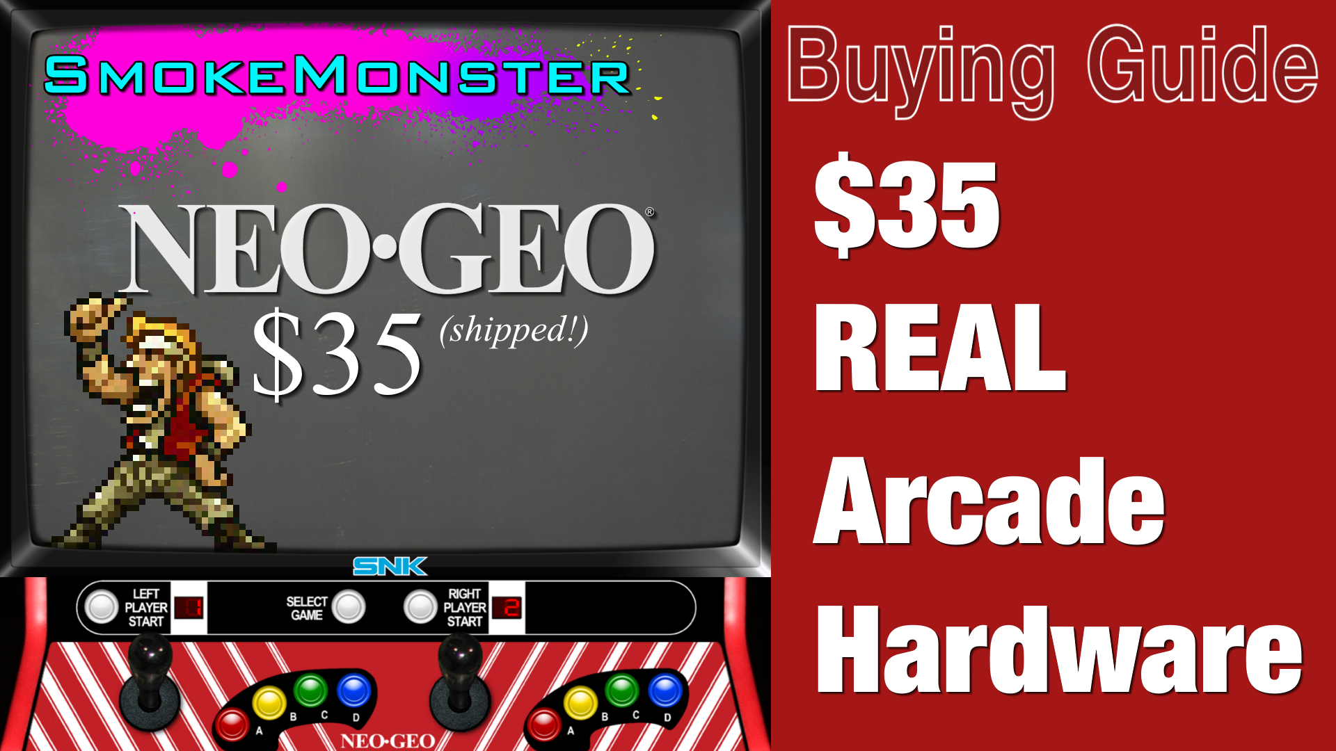 How to buy a real $35 Neo Geo MVS