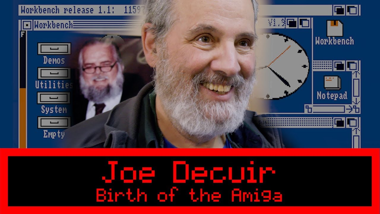 Birth of the Amiga Interview (Joe Decuir)