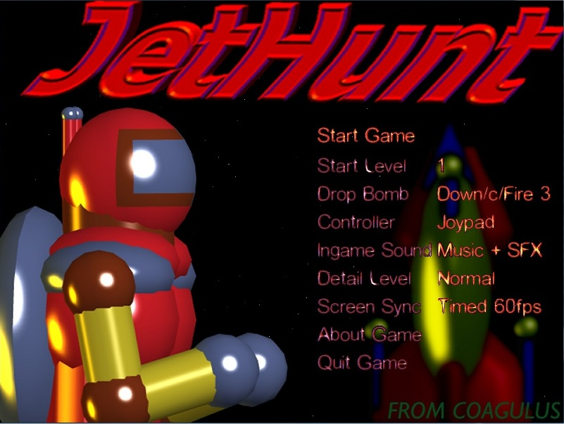 JetHunt AGA released for Commodore Amiga