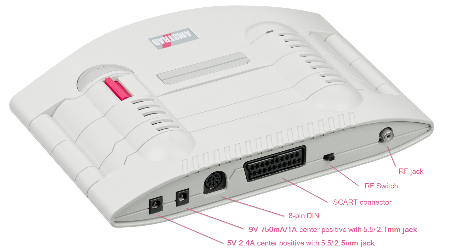 Info on the Amstrad GX-4000