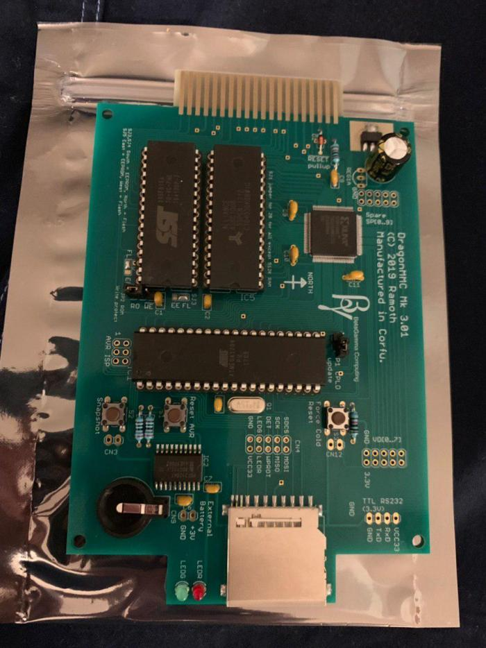 New Flash Cart Support for Dragon 32/64 Computers