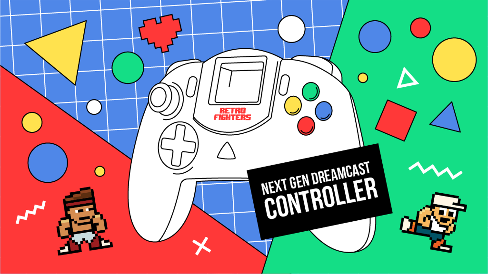 Retro Fighters Dreamcast Controller Update