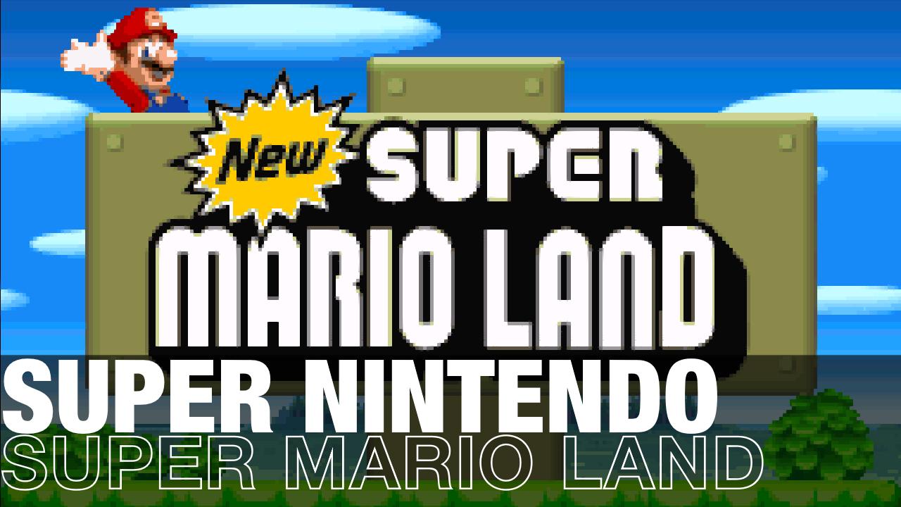 New Super Mario Land for Super Nintendo Released