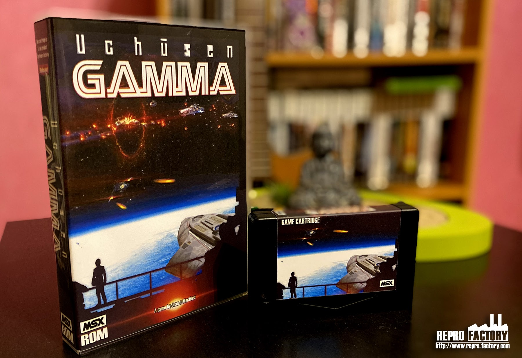MSX Shoot'Em UP Uchūsen Gamma