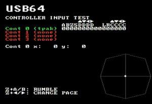 USB64 Test ROM